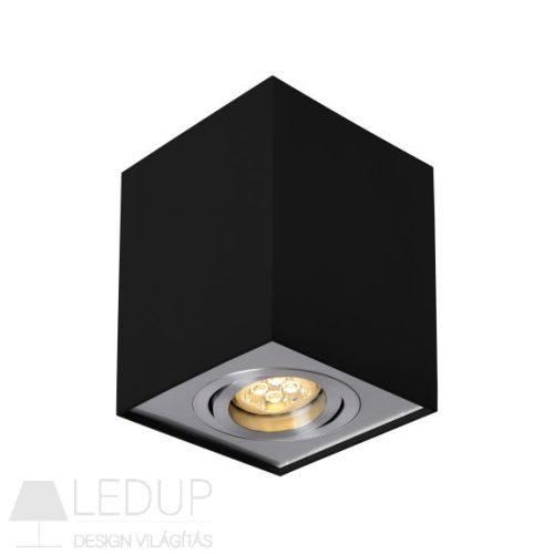 Design lámpa GU10 CHLOE Szögletes Lámpatest Fekete SPECTRUMLED