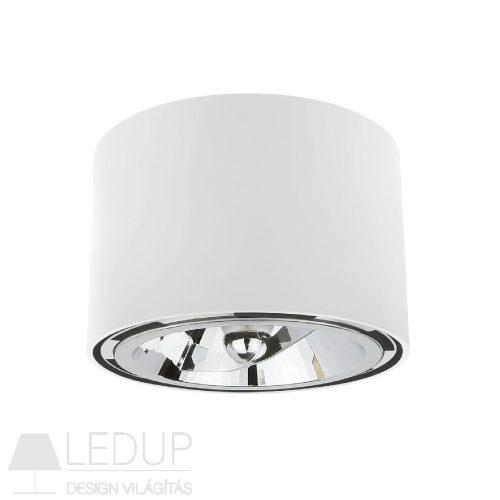 Design lámpa AR111 CHLOE kerek fehér SPECTRUMLED