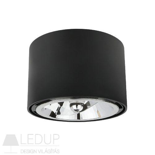 Design lámpa AR111 CHLOE kerek fekete SPECTRUMLED