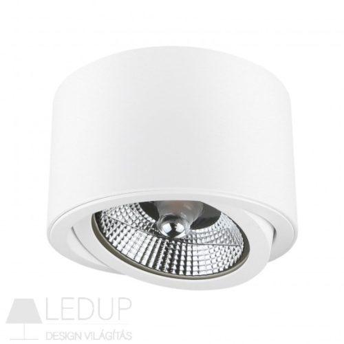 Design lámpa AR111 CHLOE kerek billenthető fehér SPECTRUMLED