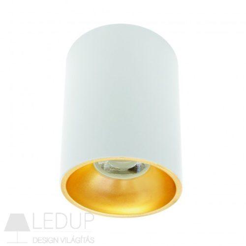 Design lámpa GU10 CHLOE ELEMENTO kerek fehér/arany SPECTRUMLED