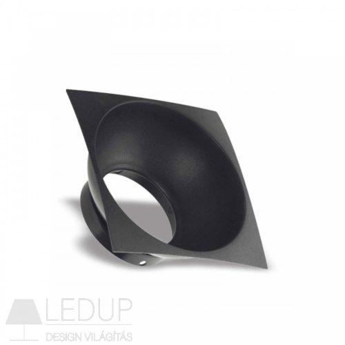 Fekete betét négyszögletes CHLOE ELEMENTO GU10 Design lámpához SPECTRUMLED
