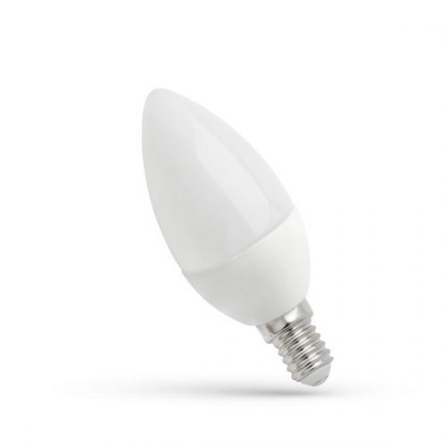 LED Gyertya E14 230V 4W WW SPECTRUMLED