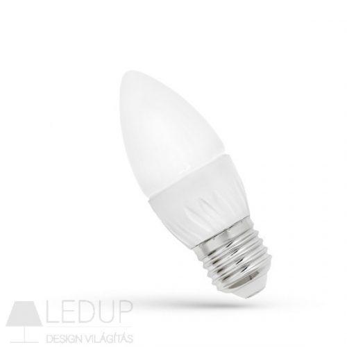 LED Gyertya E27 230V 6W WW SPECTRUMLED