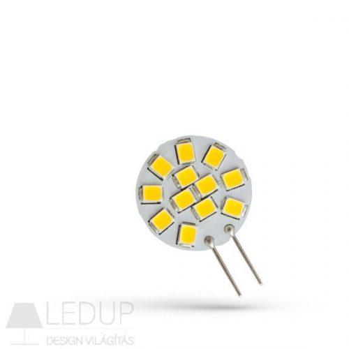 LED G4 12V 1,2W 12 LED CW 20x30mm  SPECTRUMLED
