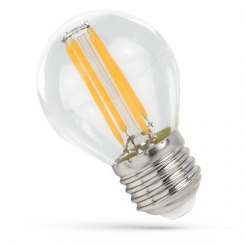 LED Kisgömb E27 230V 4W COG WW Üveg SPECTRUMLED