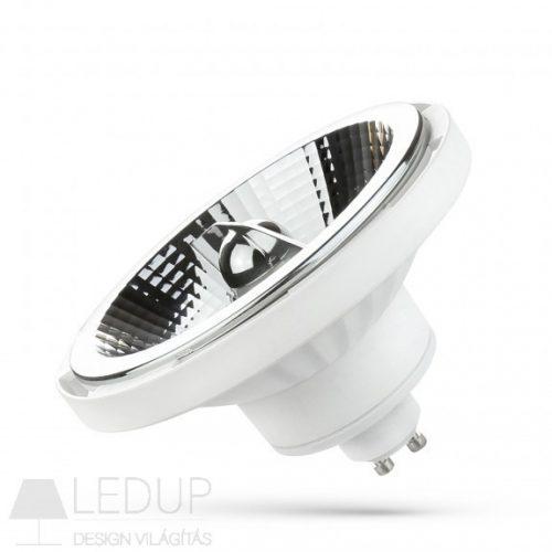 LED AR111 GU10 230V 12W SMD 20° NW fehér házas  SPECTRUMLED