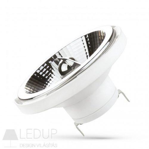 LED AR111 G53 12V 12W SMD 20° WW fehér házas  SPECTRUMLED