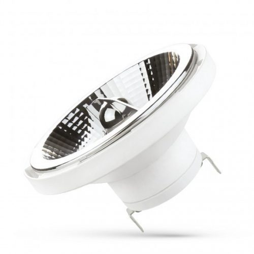 LED AR111 G53 12V 12W SMD 20° NW fehér házas  SPECTRUMLED