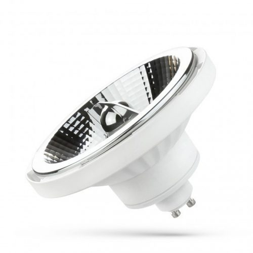 LED AR111 GU10 230V 15W SMD 45° CW fehér házas  SPECTRUMLED