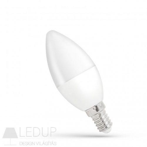 LED Gyertya E14 230V 8W WW SPECTRUMLED