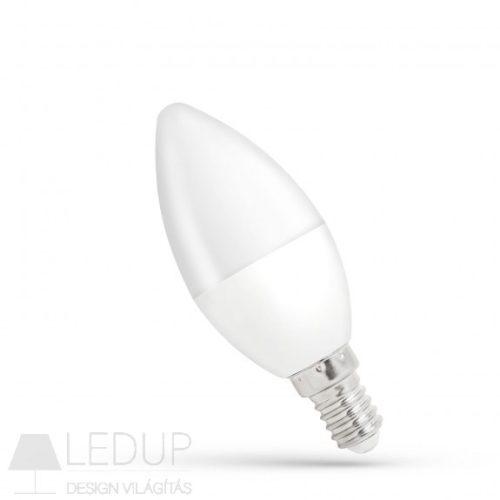 LED Gyertya E14 230V 8W NW SPECTRUMLED
