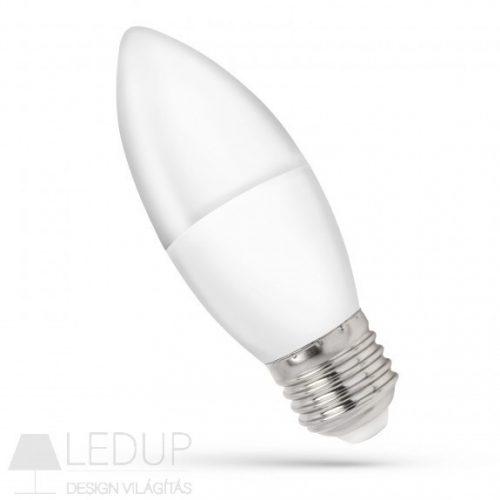 LED Gyertya E27 230V 8W WW SPECTRUMLED