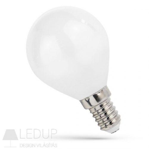 LED kisgömb E14 230V 4W COG NW fehér SPECTRUMLED