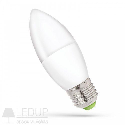 LED C37 E-27 230V 6W NW Gyertya SPECTRUMLED