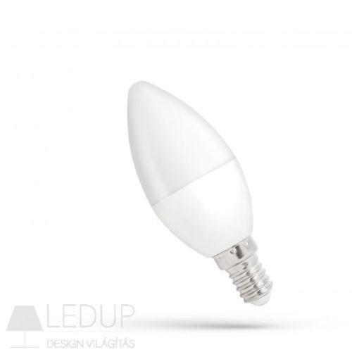 LED gyertya E14 230V 6W NW dimm  SPECTRUMLED