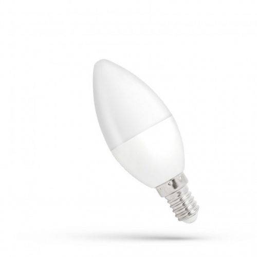 LED gyertya E14 230V 6W CW dimm  SPECTRUMLED