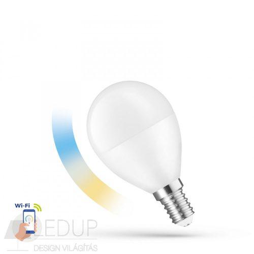 LED Kisgömb E14 230V 5W CCT+DIM WIFI - SMART SPECTRUMLED