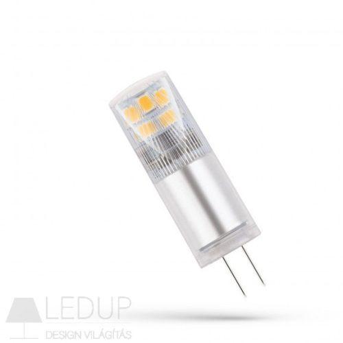 LED G4 12V 2,5W CW 13x45mm - 5 év garancia!  SPECTRUMLED